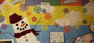 Students' Art board